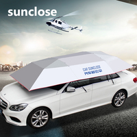 China factory manufacturer electronic waterproof car sunscreen windshield sun snow cover