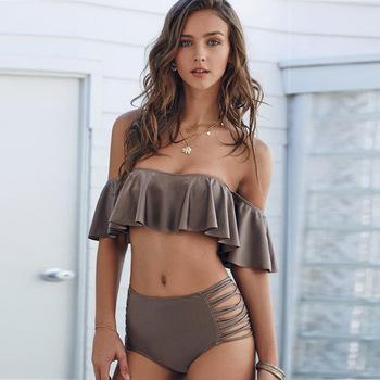 0a192a0beeefc Bonvatt two piece swimsuit woman xxx china girl bikini swimwear photos Push  Up Padded Swimwear Swimsuit