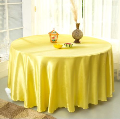 120 Best Images About Rusticmount Nmagic Wedding On: Yellow Round Tablecloth Promotion-Shop For Promotional