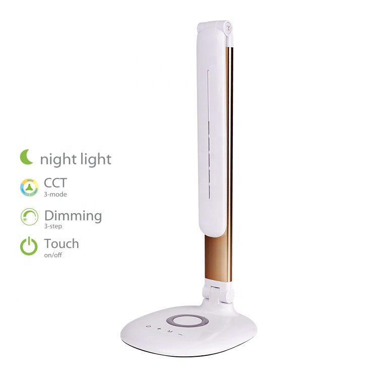 눈 Protection Touch Switch 메트 vintage Desk Lamp LED, 디 밍 Modern LED 독서 빛 Lamp, LED 독서 Lamp 와 밤 빛