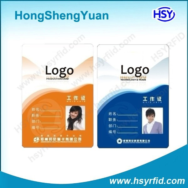 Standard dual interface printable RFID Identity Smart Card with competitive price