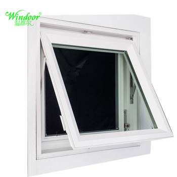 Small Size Pvc Double Glass Awning Windows - Buy Awning ...