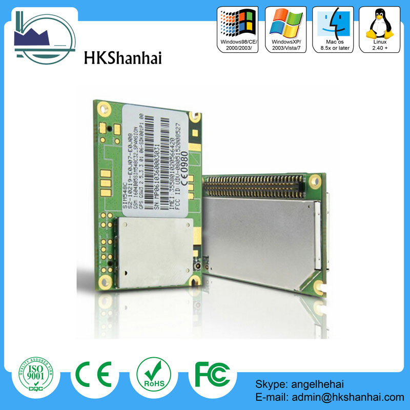 2014 new product cheap price sim548c gsm/gprs+gps module oderonline /CE FCC verification