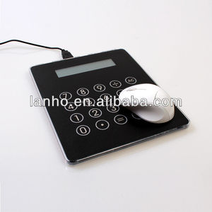 2014 NEW USB POWERED MOUSE PAD MAT / CALCULATOR / USB HUB with ALL IN ONE PC COMPUTER LAPTOP