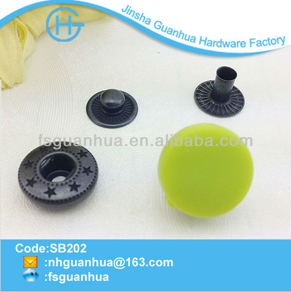 plastic spring snap button and nylon snap button