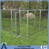 China manufacture or galvanized comfortable collapsible double dog cage many sizes for sale