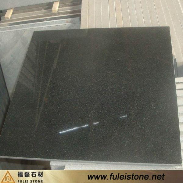 High Polished Nero Assoluto Granite - Buy Nero Assoluto Granite ...