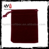Customized mylar three side sealed pouches for wholesales