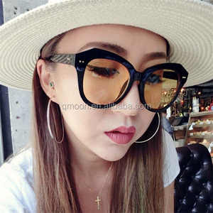 Fashion Custom sunglasses printed lens design your own sunglasses