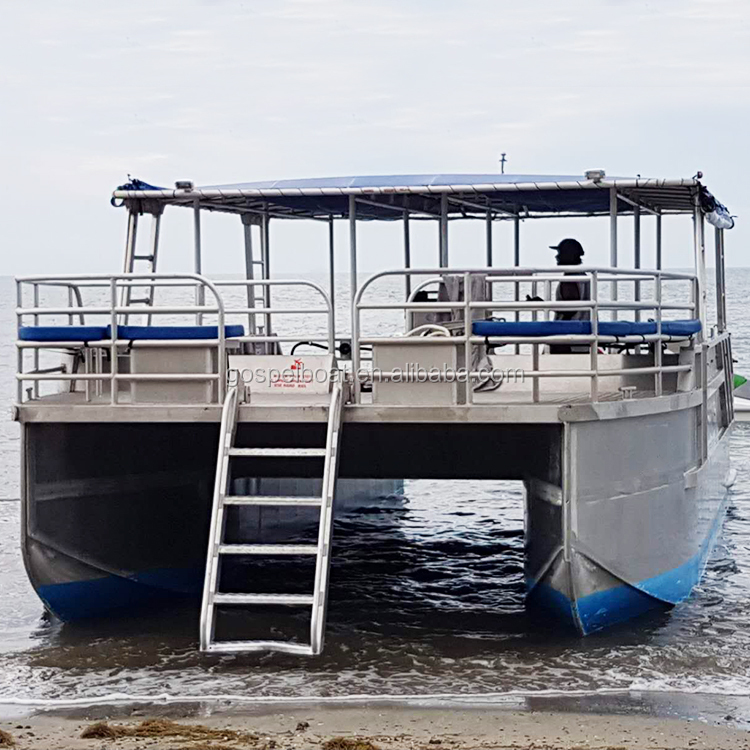 10--12m Two Hull Aluminum Working Barge For Sale Fiji - Buy Barge For Sale  Fiji,Aluminum Barge,Two Hull Working Barge Product on Alibaba com