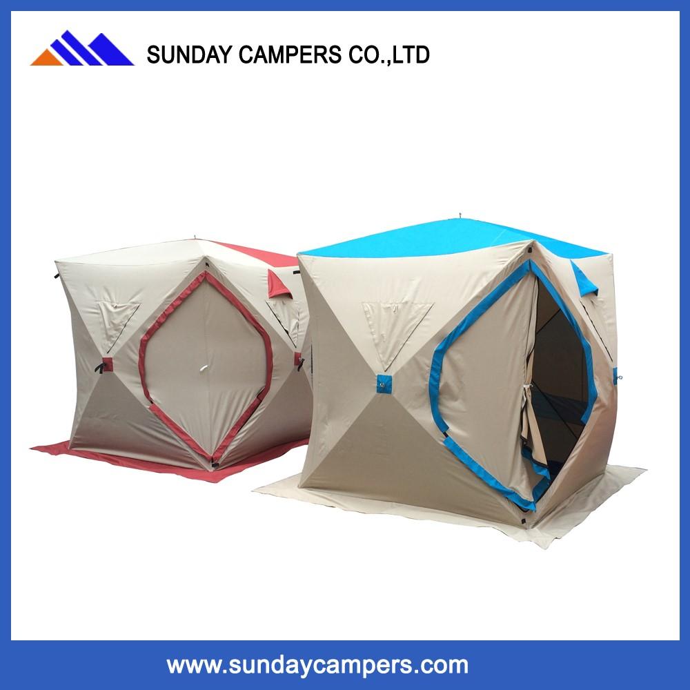 Camping Ausrüstung Pop Up Schnell Öffnen Eiswürfel Winter Angeln ...