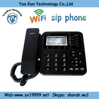 support wifi connections 4 lines usb skype voip phone ip542n