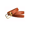 Light Brown, gold buckle