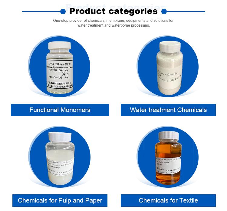 Polydadmac flüssigkeit polymer Polydadmac kationische polymer