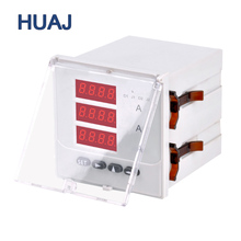 New Products Data Monitor LCD 3 Phase Digital Ampere Meter Ammeter Panel Meter Current meter