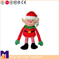 New toys for christmas 2018 soft stuffed toy plush elf christmas decoration