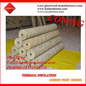 Heat Cold Insulation Rockwool Pipe Buy Thermal Heat
