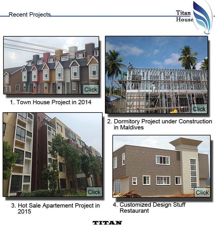 1 Floor 100m2 Light Steel Frame Fabricated Kit Homes