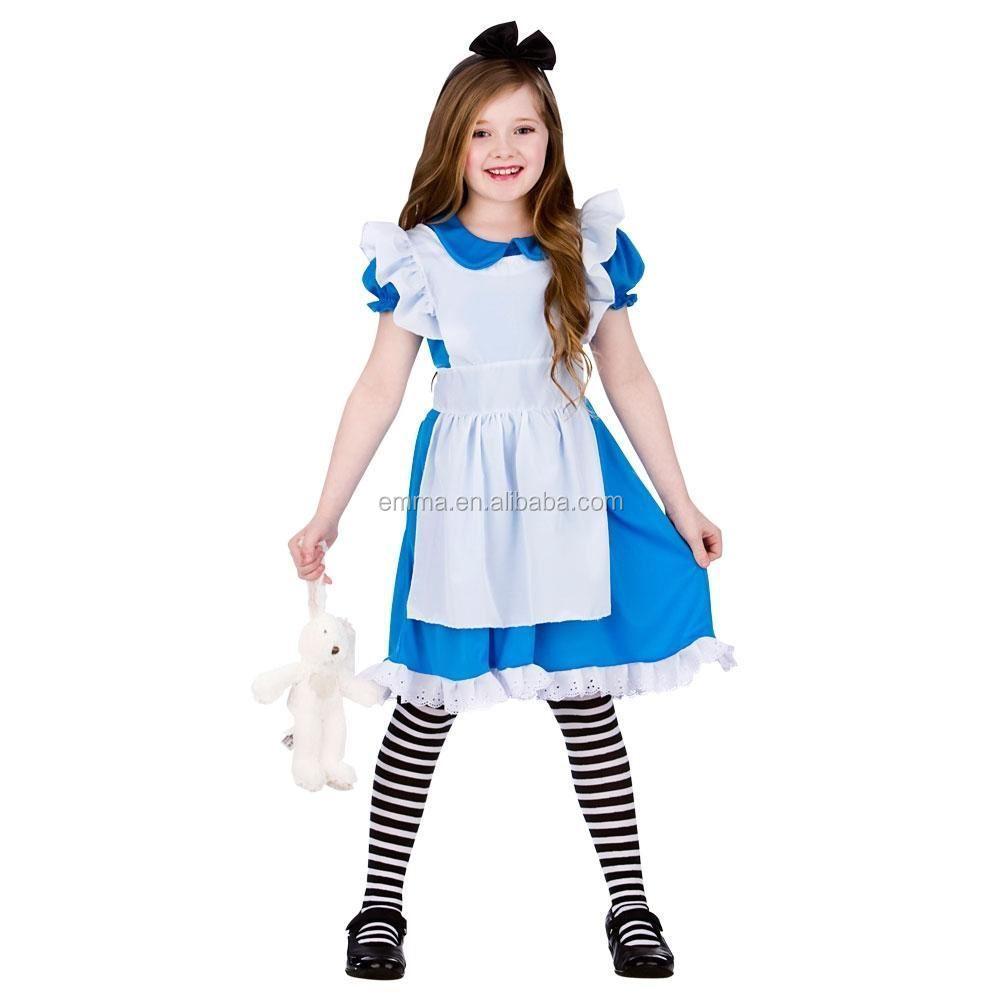 353d5294de04 Deluxe Alice in Wonderland Costume Kids Book Week Day Fancy Dress Outfit  BC12296