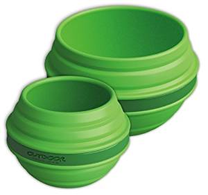 Outdoor Products Collapsible Silicone Bowl and Cup