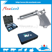 NL212 The high quality 50 ml semi-automatic continuous injector for pigs cow sheep animal syringe