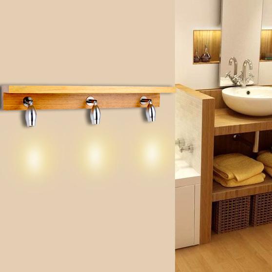 simple applique salle de bain bois acheter dbut bois moderne minimaliste led with applique salle. Black Bedroom Furniture Sets. Home Design Ideas