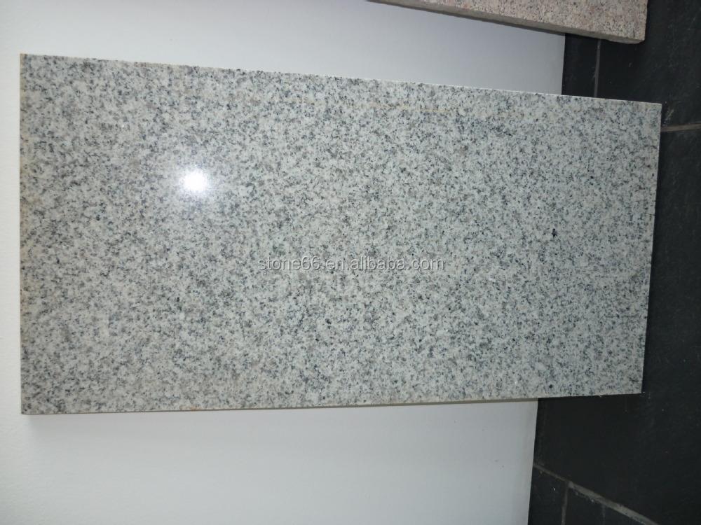 Yantai White Granite Outdoor Stone Slabs Tiles On