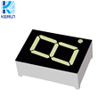 ISO RoHS SGS approval 0.8 inch one digit LED 7 segment display