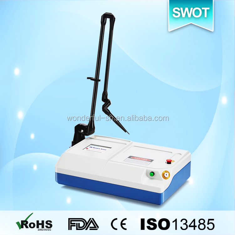 CO2 laser best selling medical products skin resurfacing, wart removal