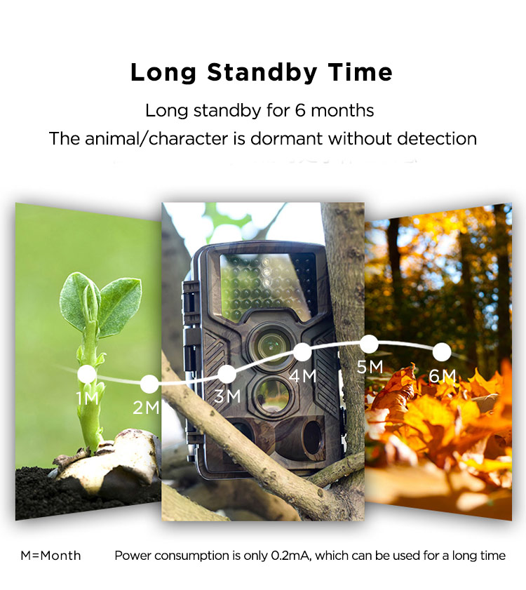 12MP 1080P 0.5s fast response outdoor widlife and security hunting trail camera 4G surveillance camera