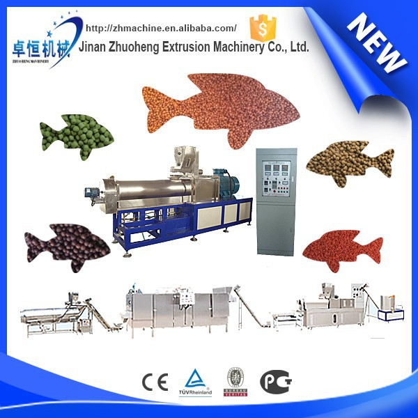 Complete Fish Feed Processing Line poultry feed machine(CE)