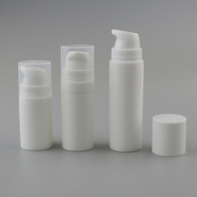 5 ml 10 ml 15 ml hohe qualität frosted pp kunststoff airless creme pumpe flasche