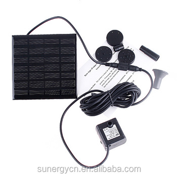 Sunergy best selling Solar garden water fountain