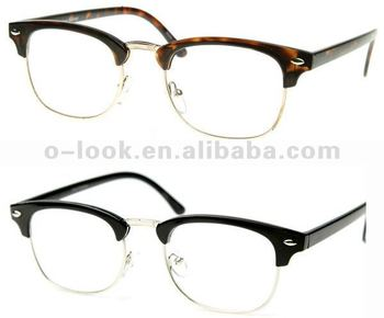 latest frames of spectacles  Unworn Original Vintage Half Frame Clubmasters Glasses,Optical ...
