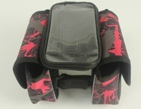 Good deal ORGE Red Cycling Bike Saddle Bag Seat Bag Pack - Large Capacity Perfect for Folding Bikes