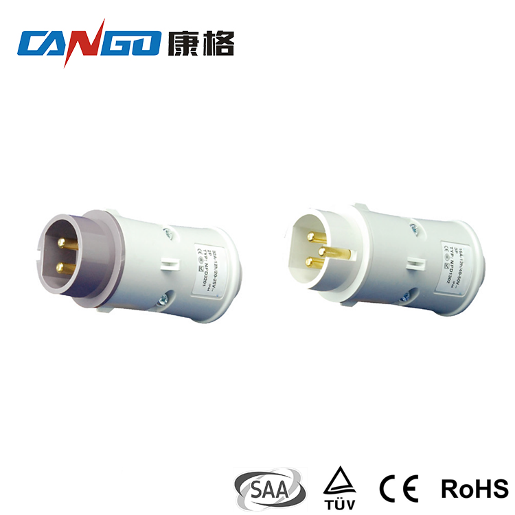 Factory Direct Sale IP44 16A 2P 3P Low Pressure Industrial Plug