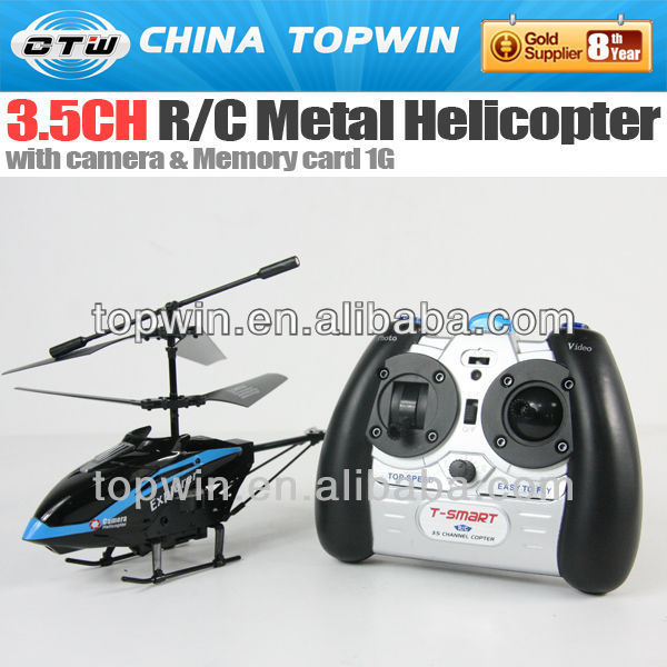 3.5ch R/C metal helicopter with camera(REH54817C)IR metal remote mini airwolf helicopter toy
