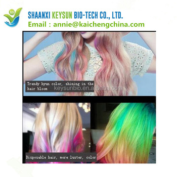 10 Colors Cosplay Fashion One Time Hair Color Hair Dryer Temporary Diy Hair Color Mascara Dye Cream Blue Grey Purple Cream Buy High Quality Hair