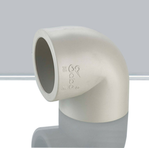PP-R Facotry Wholesale Plastic Elbow Pipe and Pipie fitting 90degree elbow