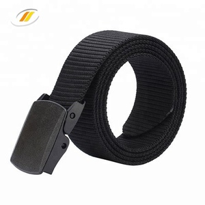 Wear proof Smooth Buckle Prevent Allergy Braided Nylon Army Belt