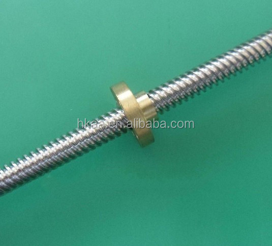 custom fabrication service stainless steel worm shaft stainless steel lead scew