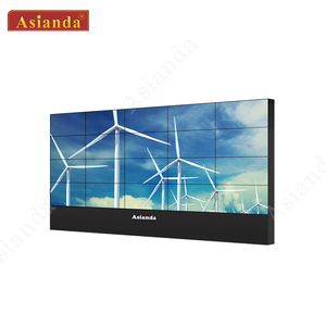 55 inch 3.5 mm narrow bezel screen LCD video advertising display indoor video wall With Samsung lcd HD display