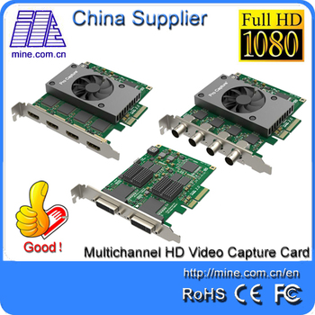 Full Hd Video Capture Card 4 Channels Hdmi Input - Buy Video Capture  Hdmi,Hdmi Capture Card,Full Hd Capture Card Product on Alibaba com