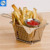 Food Grade 304 Stainless Steel Fryer French Deep MINI Mesh Frying Basket