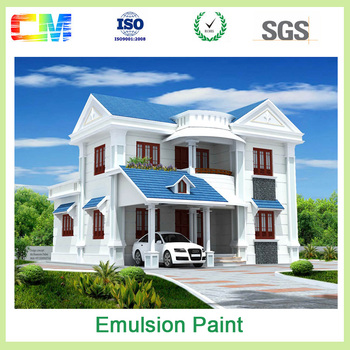 Paint Factory Weather Resistant Uv Proof Spray Exterior Emulsion Supplier