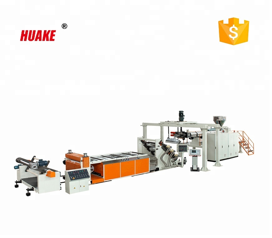 HUAKE PVC plaat extrusie lijn plastic machine