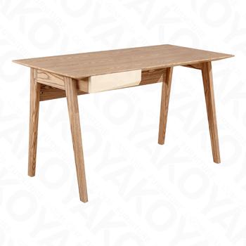 Scandinavian Style Modern Solid Wooden Study Desk