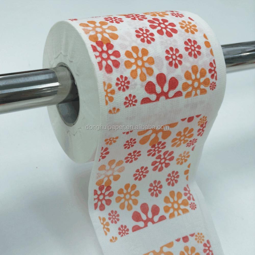 Custom Toilet Paper Design & Printed Toilet Paper - Buy High Quality ...