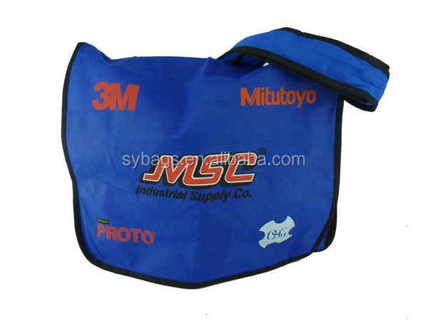 single nonwoven messenger bag /nonwoven messenger bag / nonwoven shoulder bag