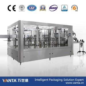 Bottle Water Filling Machine Rinsing-Filling-Capping Block Water Filler 12000bph